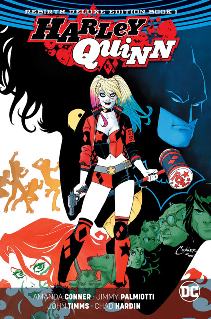 Harley Quinn Rebirth Deluxe Edition
