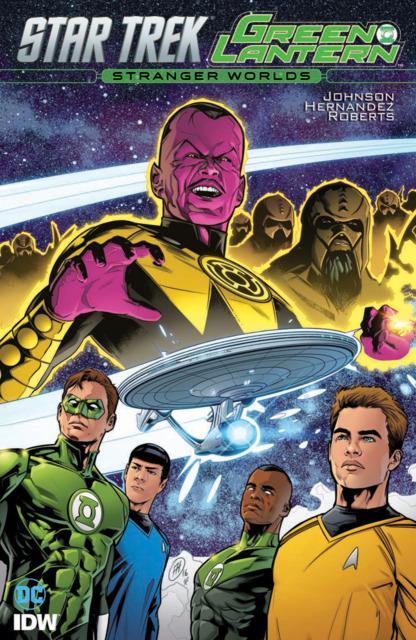 Star Trek/Green Lantern: Stranger Worlds