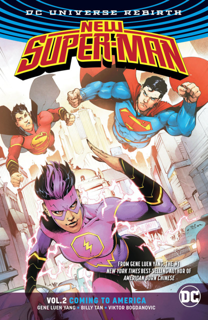 New Super-Man: Coming To America