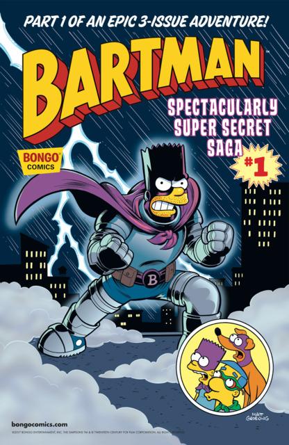 Bartman Spectacularly Super Secret Saga