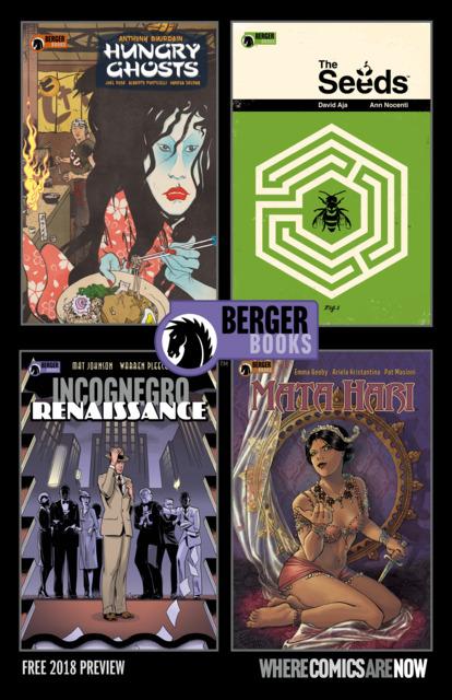 Berger Books Sampler Ashcan