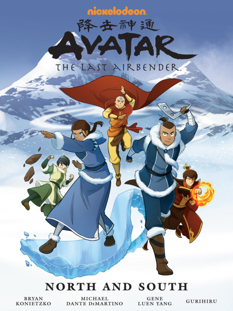 Nickelodeon Avatar: The Last Airbender–North and South
