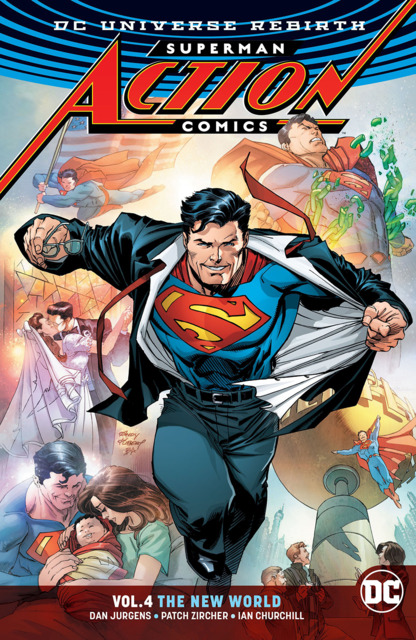 Superman: Action Comics: The New World