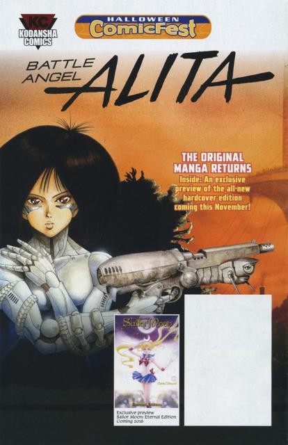 Battle Angel Alita/Sailor Moon Eternal Edition: Halloween ComicFest