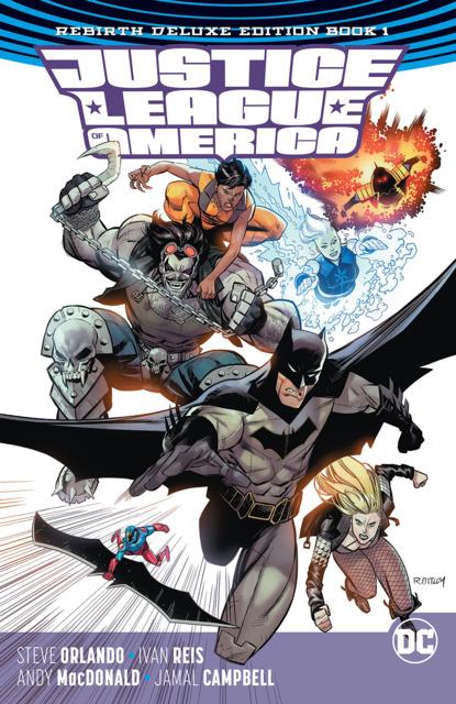 Justice League of America: Rebirth Deluxe Edition