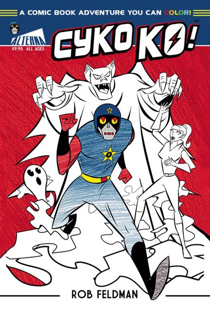 Cyko KO! Coloring Book