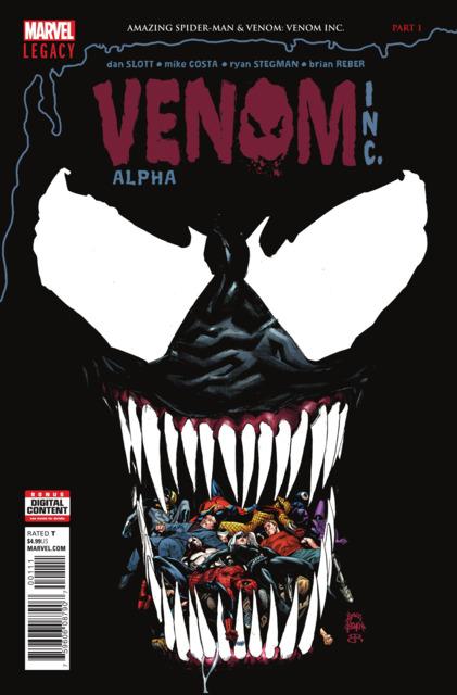 Amazing Spider-Man: Venom Inc. Alpha