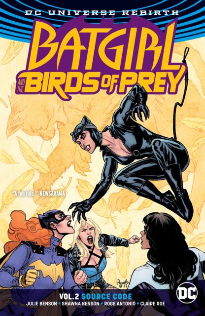Batgirl and the Birds of Prey: Source Code