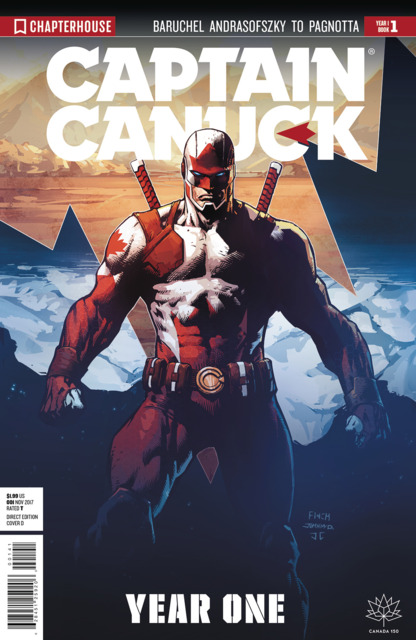 Captain Canuck: Year One