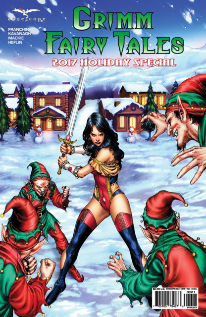 Grimm Fairy Tales: 2017 Holiday Special