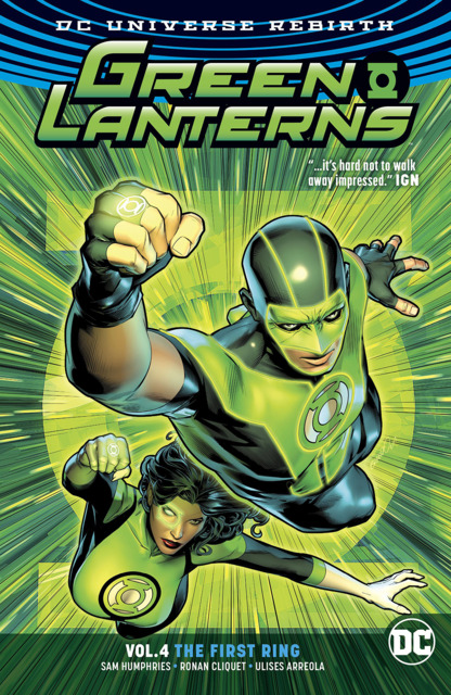 Green Lanterns: The First Ring