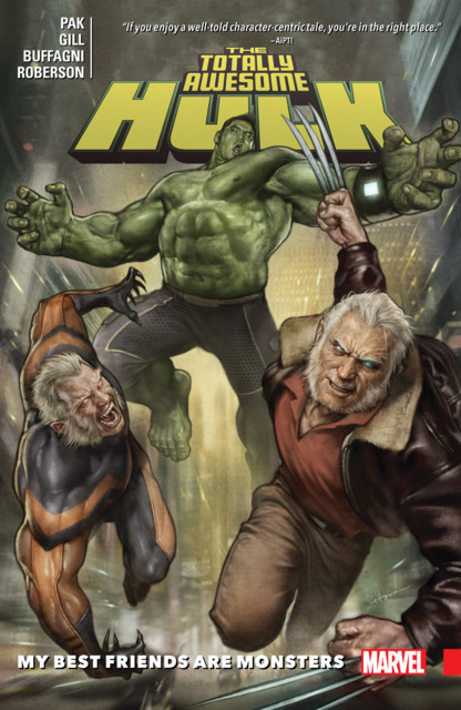 The Totally Awesome Hulk: My Best Friends Are Monsters