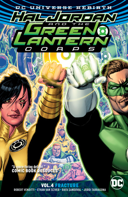 Hal Jordan and the Green Lantern Corps: Fracture