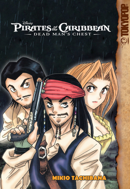 Disney Manga: Pirates of the Caribbean: Dead Man's Chest