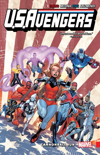 U.S.Avengers: Cannonball Run