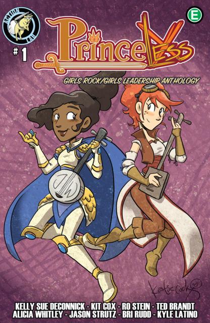 Princeless: Girls Rock/Girls Leadership Anthology