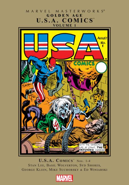 Marvel Masterworks: Golden Age U.S.A. Comics