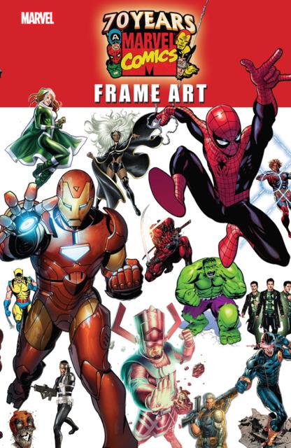 Marvel 70th Anniversary Frame Art
