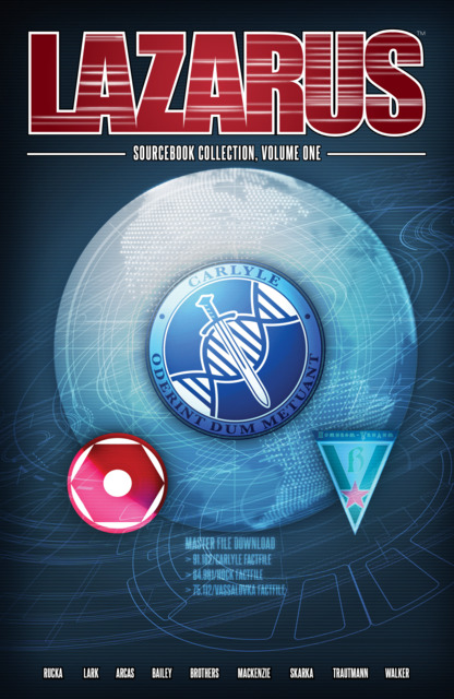 Lazarus: Sourcebook Collection