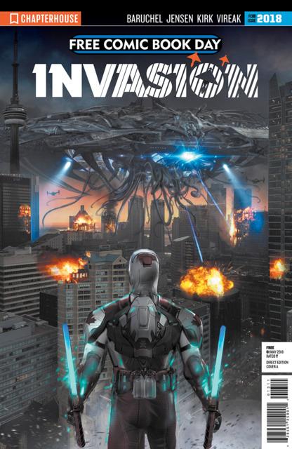 Invasion Free Comic Book Day 2018