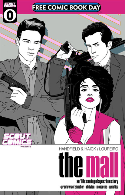 Scout Comics Presents: The Mall