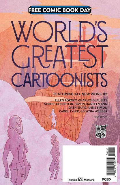 World's Greatest Cartoonists: FCBD 2018
