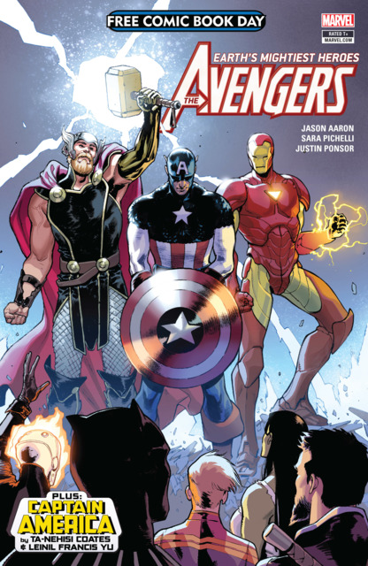 Free Comic Book Day 2018 (Avengers/Captain America)