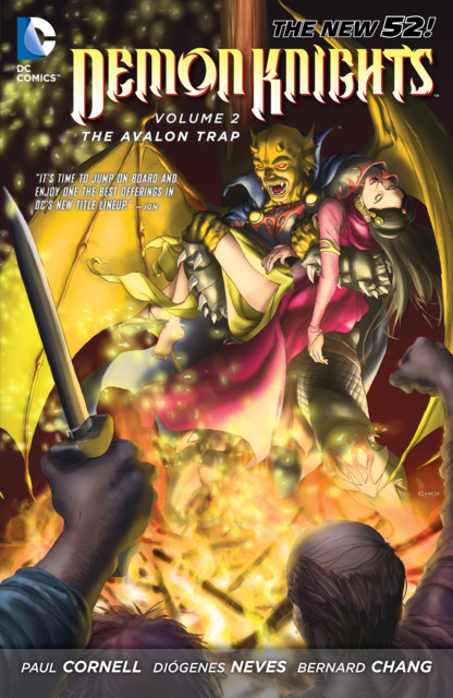 Demon Knights: The Avalon Trap