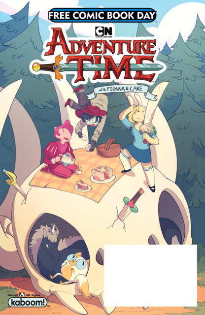 Adventure Time With Fionna and Cake 2018 Free Comic Book Day Special