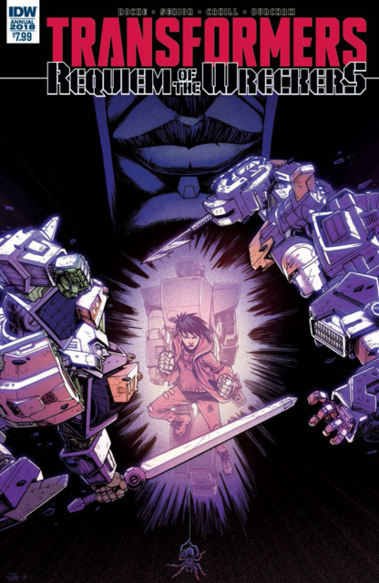 Transformers: Requiem of the Wreckers Annual