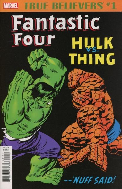 True Believers: Fantastic Four: Hulk vs. Thing