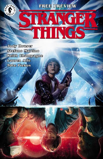 Stranger Things #1 Ashcan
