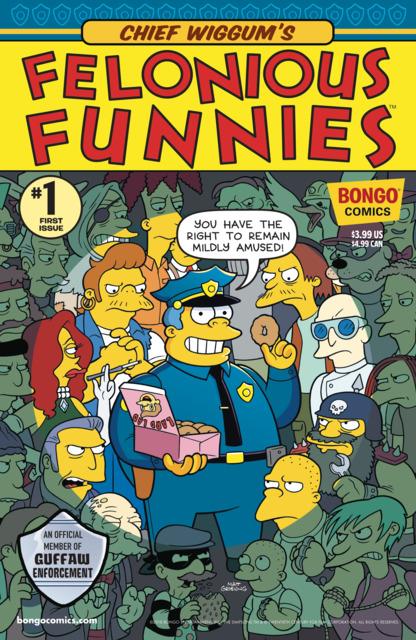 Chief Wiggum's Felonious Funnies