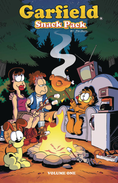 Garfield: Snack Pack