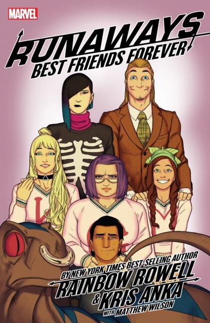 Runaways by Rainbow Rowell & Kris Anka: Best Friends Forever