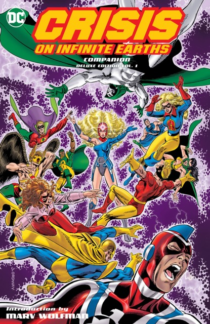 Crisis On Infinite Earths Companion Deluxe Edition