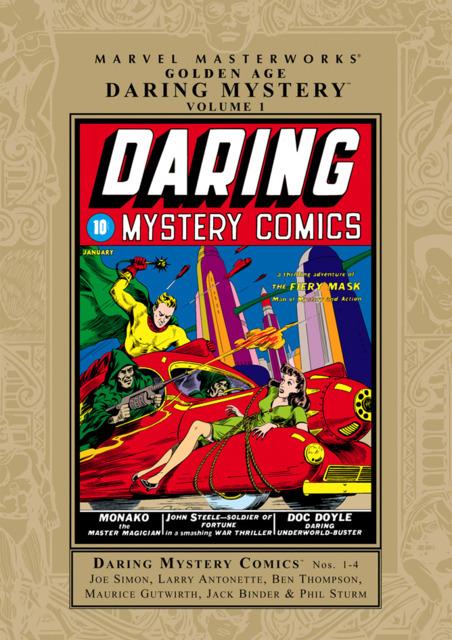 Marvel Masterworks: Golden Age Daring Mystery