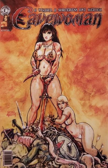 Cavewoman: A Wizard, A Sorceress and Meriem