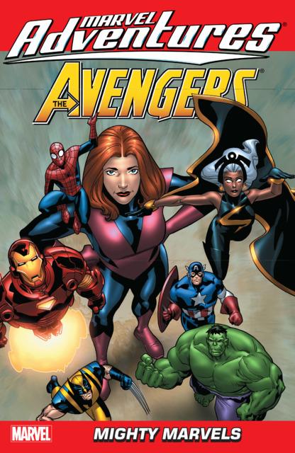 Marvel Adventures Avengers: Mighty Marvels