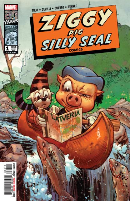 Ziggy Pig: Silly Seal Comics