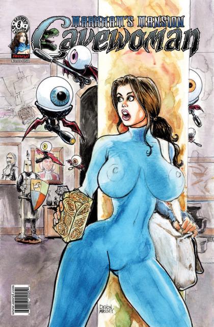 Cavewoman: Markham's Mansion
