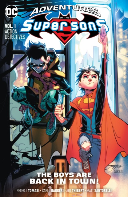 Adventures of the Super Sons: Action Detectives