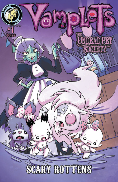 Vamplets: Undead Pet Society: Scary Rottens