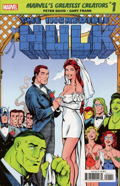 True Believers: Marvel's Greatest Creators: The Incredible Hulk: The Wedding of Rick Jones