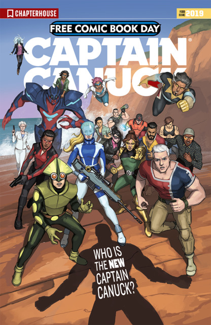 Captain Canuck Free Comic Book Day 2019