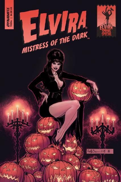 Elvira Mistress of the Dark Spring Special One-Shot
