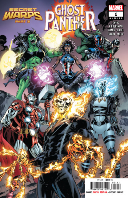Secret Warps: Ghost Panther Annual
