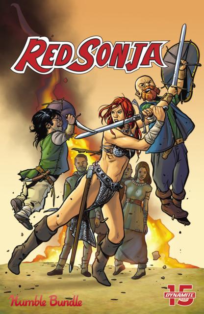 Red Sonja, Humble Bundle One Shot