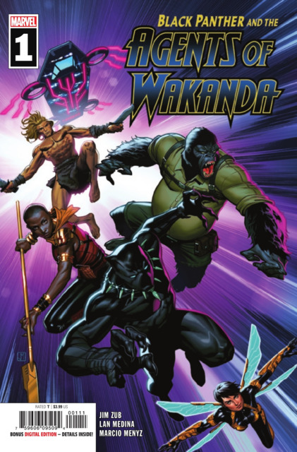 Black Panther and the Agents of Wakanda