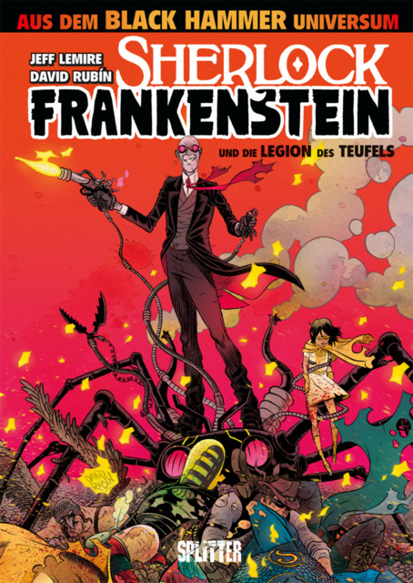 Sherlock Frankenstein und die Legion des Teufels